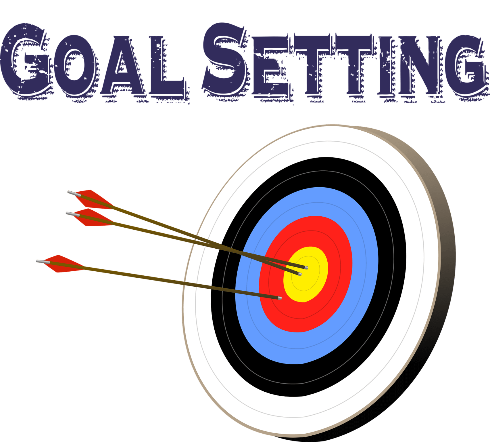 Write down SMARTER goals to stay on target